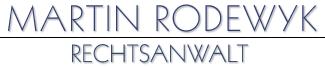 Martin Rodewyk – Rechtsanwalt, Hamburg